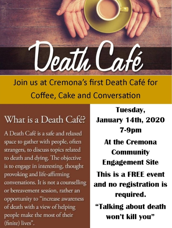 death cafe ad